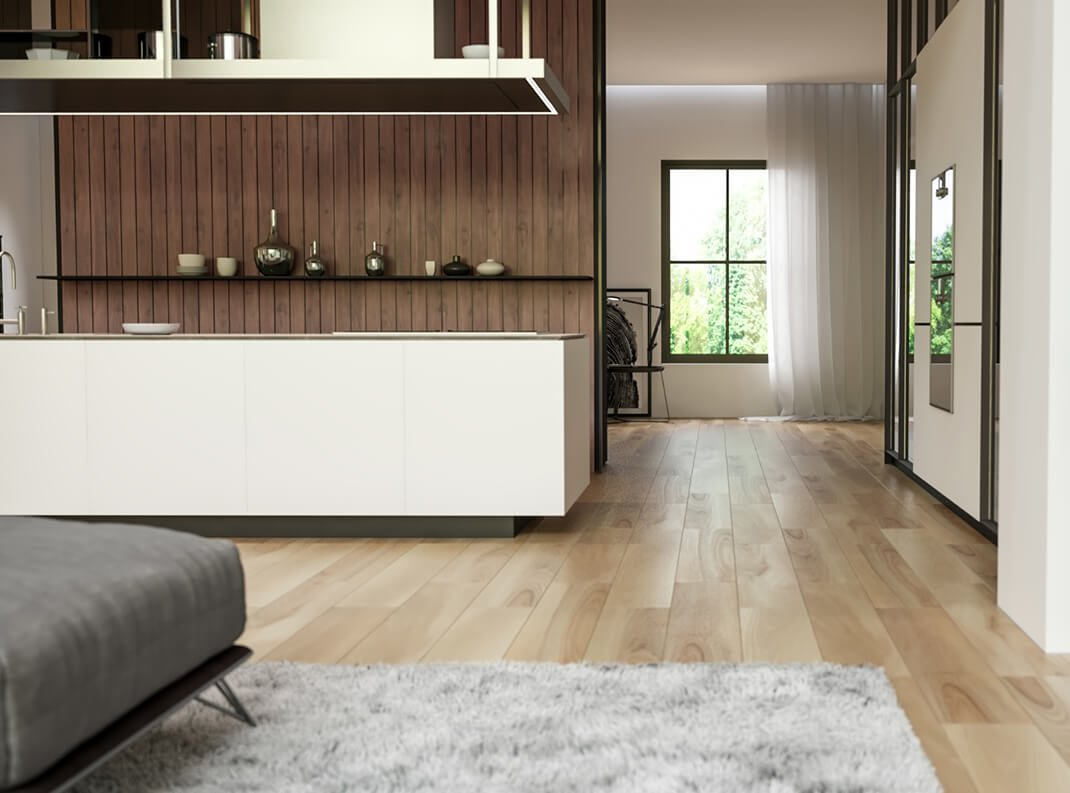 private house interior rendering